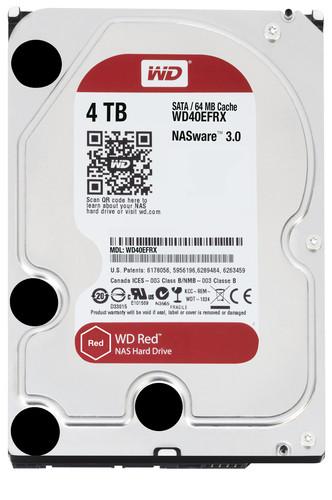 Disco Duro Western Digital NAS Red 4TB SATA3