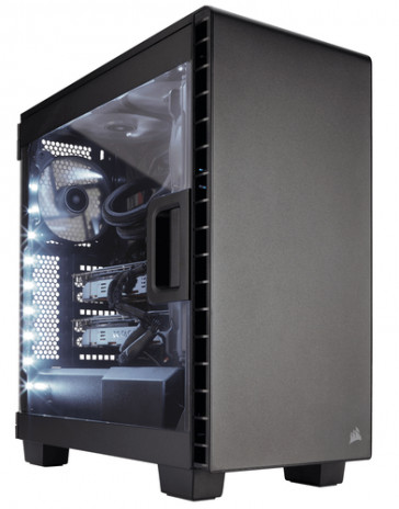 Caja Corsair Carbide Series Clear 400C Compact
