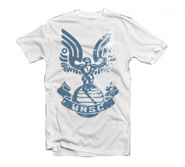 Camiseta Halo Reach  UNSC Logo Talla M