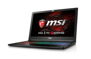 "MSI Gaming GS63VR 6RF(Stealth Pro 4K)-032ES 2.6GHz I7-6700HQ 15.6"" Negro"