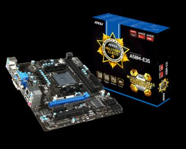 Placa base MSI A58M-E35 - Socket FM2+