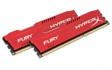 Kingston HyperXRed8GB (2x4)DDR3 1600MHz CL10