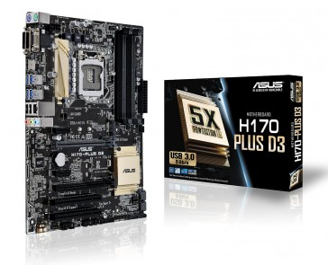 Placa Base Asus H170-PLUS D3