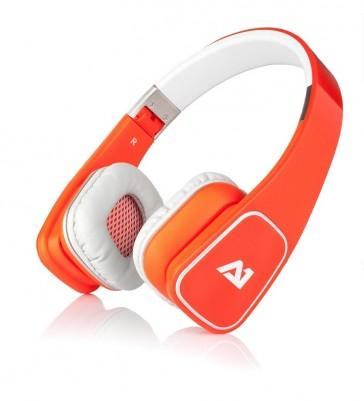 Auriculares Attitude One Almaz - Naranja
