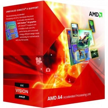 Procesador AMD Apu A4 X2 3400 2,7Ghz Box FM1