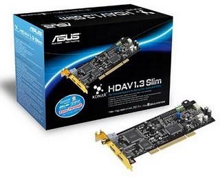 Tarjeta de sonido Asus Xonar HDAV 1.3 Slim 7.1