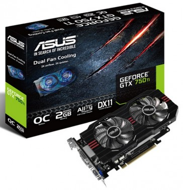 Asus GeForce GTX750Ti - 2GB - GDDR5
