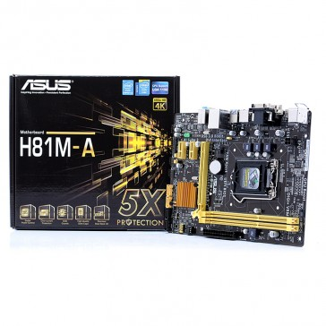 Placa Base Asus H81M-A - Socket 1150
