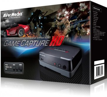 Capturadora AVerMedia Game Capture HD