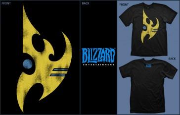 Camiseta Starcraft 2 Protoss - Talla XL
