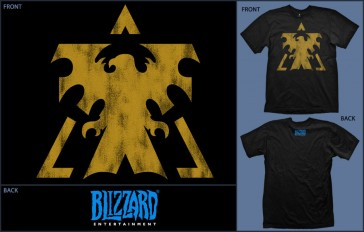 Camiseta Starcraft Terran  Talla XL