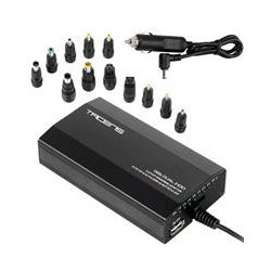 Cargador universal Tacens Oris 100 W - 12 tips con USB