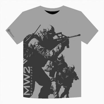 Camiseta Modern Warfare 2 - Commando-Gris-Talla S