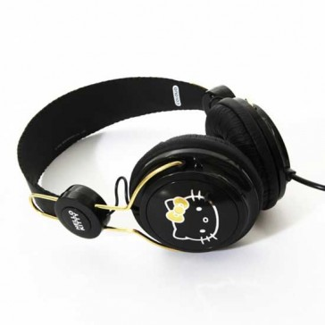 Auriculares Coloud Hello Kitty Black