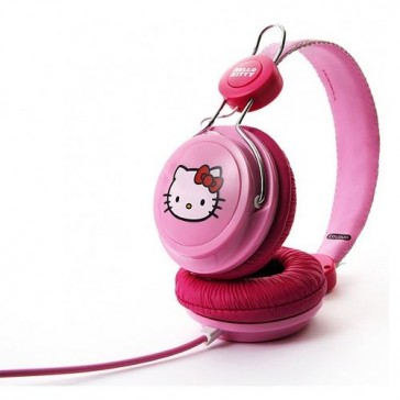 Auriculares Coloud Hello Kitty Pink