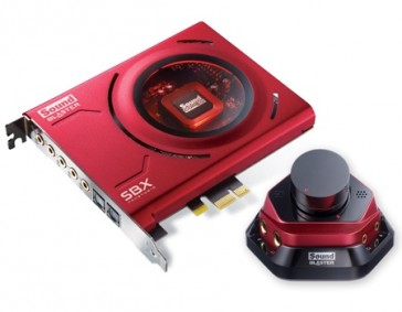 Tarjeta de sonido Creative SoundBlaster ZX - PCIe