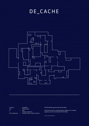 Poster CS:GO Coleccionista - Cache
