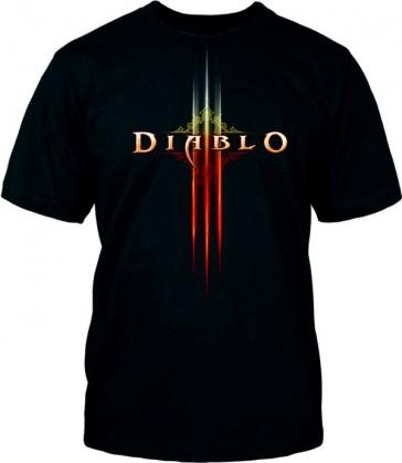 Camiseta Diablo III - Logo - Talla S