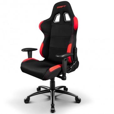 Silla Gaming Drift DR100 - Negra Roja