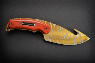 Cuchillo FadeCase Gut - Tiger Tooth
