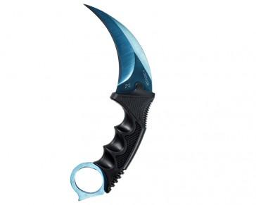 Cuchillo FadeCase Karambit - Blue Steel