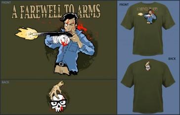 Camiseta Jinx A Farewell to Arms Military -Talla S