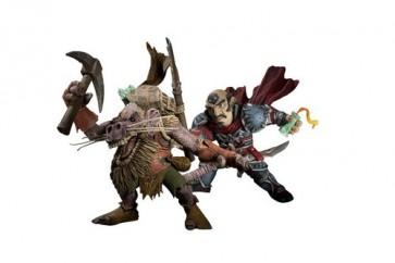 Figura Wow Gnome Rogue Vs Kobold Miner Serie 8