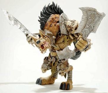 Figura Gnoll Warlord: Gangris Riverpaw - WOW- 20cm