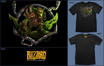 Camiseta Jinx WOW Goblin Black - Talla XL
