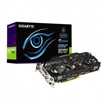 Gigabyte GeForce GTX760 WindForce - GV-N760OC-4GD