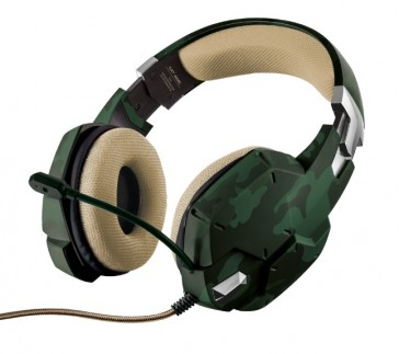 Auriculares Trust GXT 322C camuflaje- PC/PS4/XB1