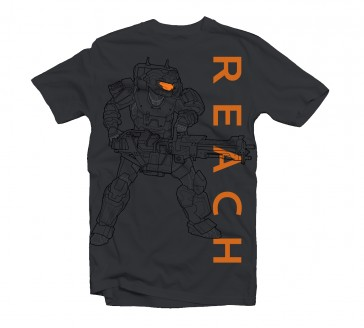 Camiseta Halo Reach Noble Soldier - Talla XL