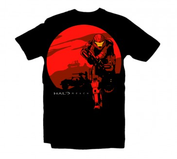 Camiseta Halo Reach Rising Sun Talla L