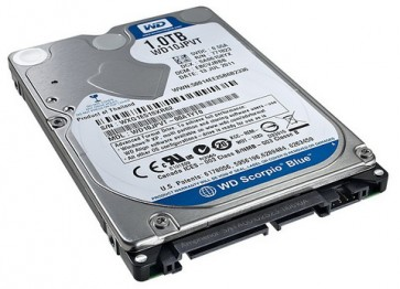 "Disco Duro Western Digital Blue 1TB 2.5"" 5400RPM"