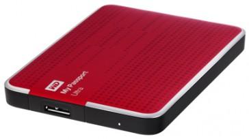 Western Digital 500GB My Passport Ultra - Rojo