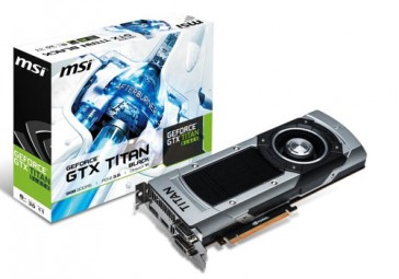 MSI GeForce GTX TITAN BLACK 6GB