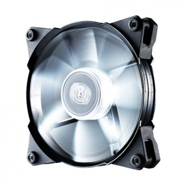 Ventilador Cooler Master JetFlo 120mm - LED Blanco