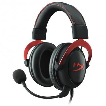 Auriculares KingstonHyperXCloudII- Rojo