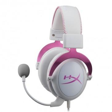 Auriculares KingstonHyperXCloudII- Rosa