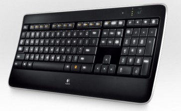 Teclado Logitech Wireless Illuminated K800
