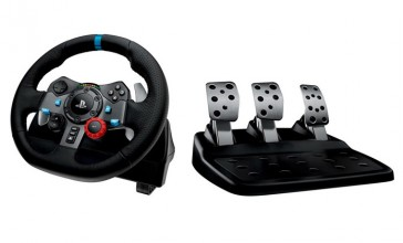 Volante Logitech G29 Racing Wheel- PS3/ PS4 + Alfombrilla 1337 Viper L Gratis