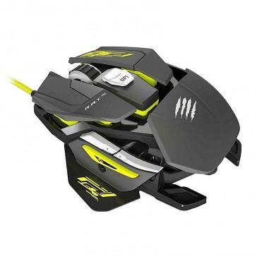 Ratón Mad Catz R.A.T Pro S - Óptico - 5000DPI
