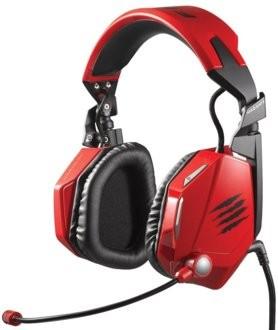 Auriculares Mad Catz FREQ 7 - Rojo