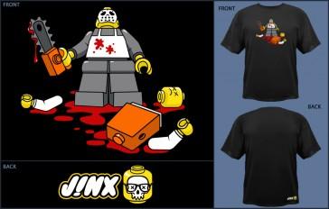 Camiseta Jinx Maniac - Black - Talla S