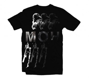 Camiseta Medal of Honor - Shadows - Talla L