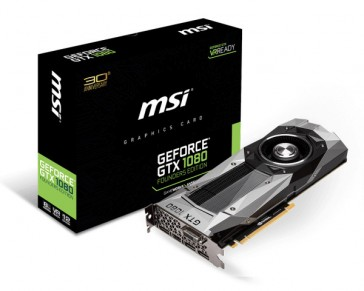 MSI GeForce GTX 1080 Founder 8GB GDDR5