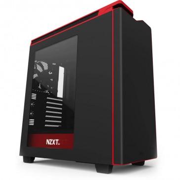 Caja NZXT H440 - Negra/Roja