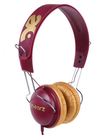 Auriculares On Earz Lounge Prawn Gold