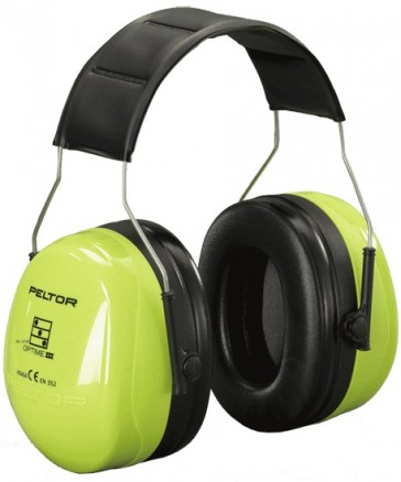 Protector Auditivo Peltor III Optime Hi-Viz