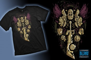 Camiseta WOW Paladin  Legendary Class Talla XL